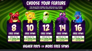 SoManyMonsters_03_FreeSpinsSelection