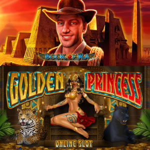 Golden Princess vs Book of Ra